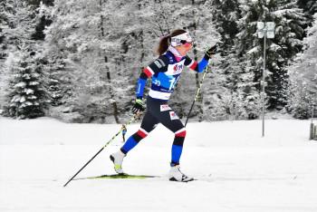 Kateřina Razýmová, toto jméno běžkyně na lyžích si zapamatujte